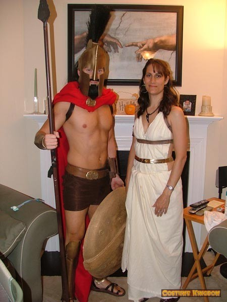 King Leonidas and Queen Gorgo from 300  sc 1 st  Costume Kingdom Gallery & King Leonidas and Queen Gorgo from 300 : Costume Kingdom Gallery