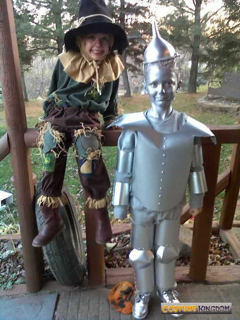 tin man scare crow