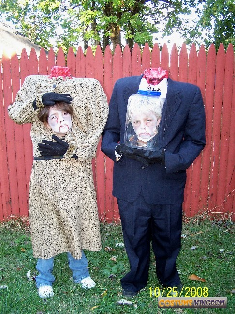 funny halloween costume ideas for couples on Headless Couple Costume Kingdom Gallery & quick halloween costume ideas