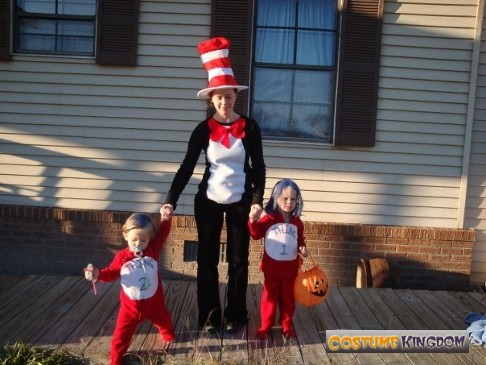 Cat in the Hat and Thing 1 2