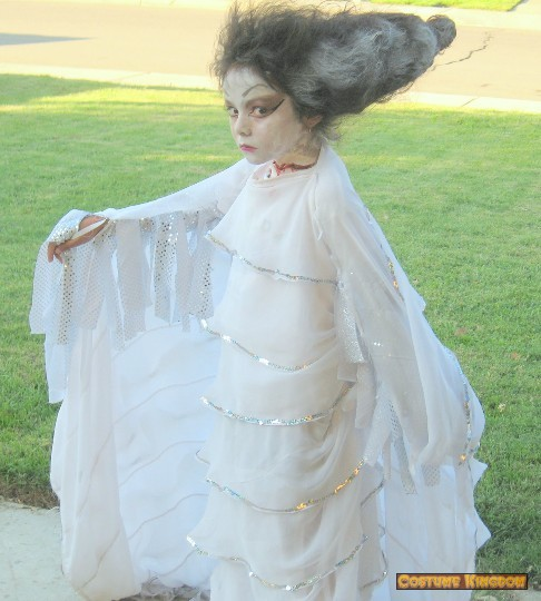 The child Bride of Frankenstein : Costume Kingdom Gallery