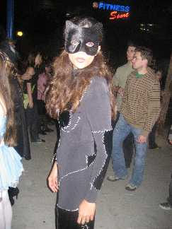 Cute Cat Woman