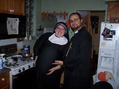 Preist and Pregnant Nun