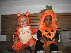 Tigger And The Cute Pumpkin