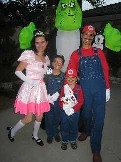 Super Mario Bros Family