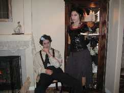 Sweeney Todd and Mrs Lovett