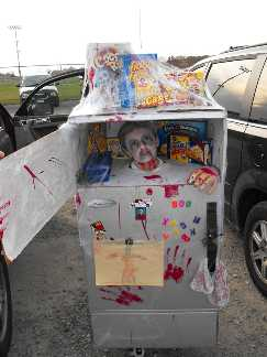 Severed Head In Freezer