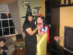 Snow white and the wicked witch