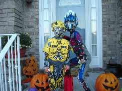 Optimus Prime and Bumblebee