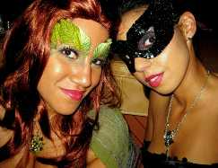 Poison Ivy and Catwomen