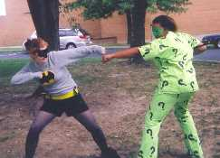 The Riddler vs Batman