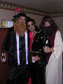 Rabbi Jesus and Elvis