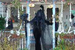 dark bride steps out