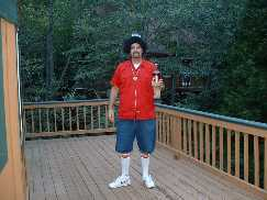 Gangsta Rapper Costume Lake Arrowhead CA