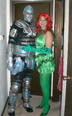 Mr Freeze and Poison Ivy