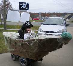 Pirate Wheelchair Ship
