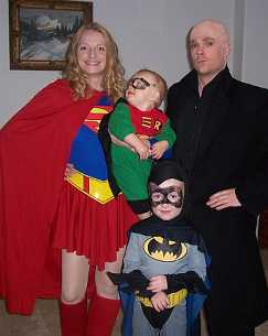 Superhero and Villian Family