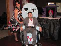 Pee Wee Chairy Miss Yvonne and Jambi