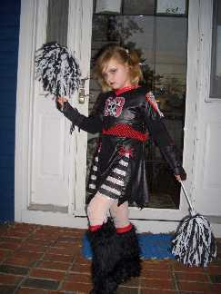 Goth Cheerleader