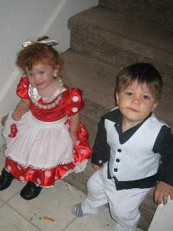 Little Lucy and Ricky Ricardo