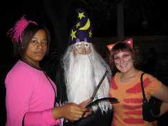 Umbridge Dumbledore and Crookshanks