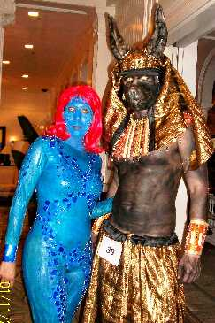 Mystique and Pharoah guard