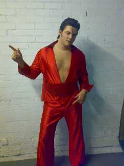 Red hot idol Elvis