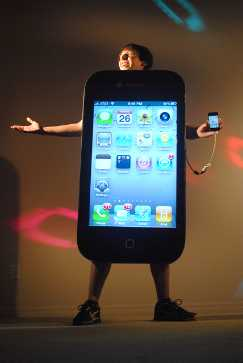 2010 Working iPhone 4 Costume