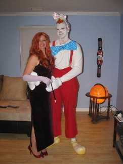 Roger and Jessica Rabbit