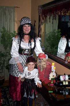 Pirate s Wench and little pirate