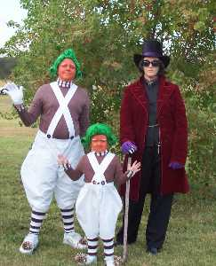 Willy Wonka and the Oompa Loompa s