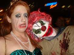 Clown and Dead Girl