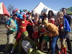 The Superheroes and various others