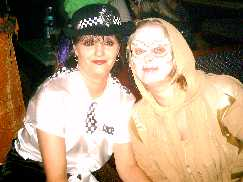 mummy queen and sexy policewoman