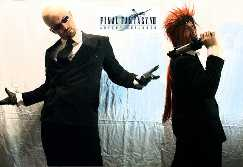 Reno and Rude Final Fantasy VII