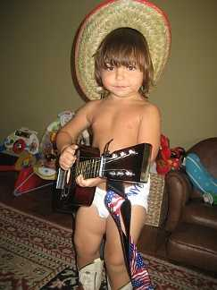 Liam the naked cowboy