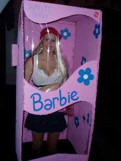 WHITE TRASH BARBIE