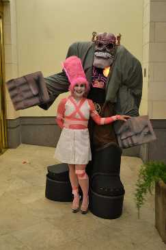Frankenberry and Bride of Frankenberry