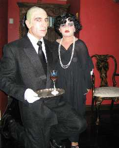 Norma Desmond and Max