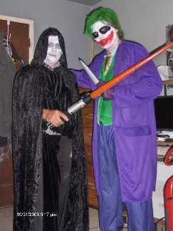 Joker and Darth Sidious team up