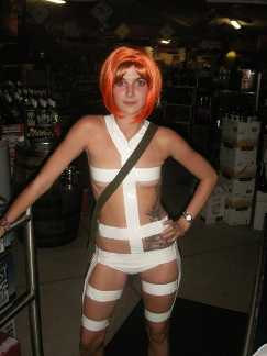 Leeloo from the 5th Element