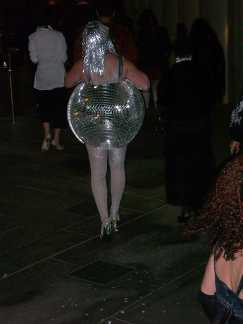 Disco Ball Woman