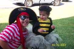 Sisterly Love The Pretty Pirate w the Little Busy Bee