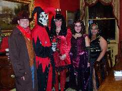 Sexy but not trashy Dark Queen of hearts Evil Jester Vampire Saloon girl and Gunslinger