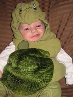 baby turtle s first halloween