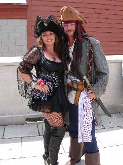 Captain Jack and Lady Bligh