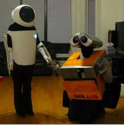 Wall E and Eve