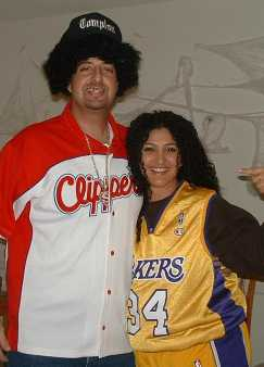 basketball costume couples Hollywood CA
