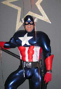 Captain America Home Made