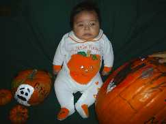 Mommy s little pumpkin